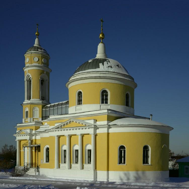 Крестовоздвиженский храм г. Коломны