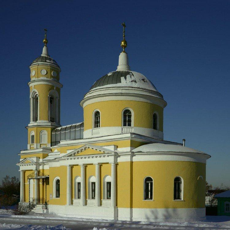 Крестовоздвиженский храм г. Коломна
